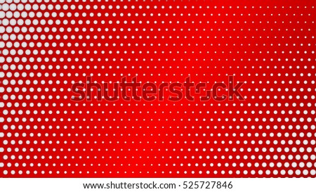Abstract background of small dots on red background