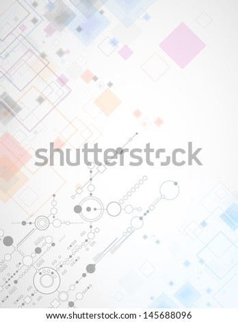 Abstract background on a technological theme.