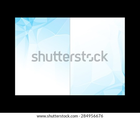 Abstract background or cover easy editable - stock vector