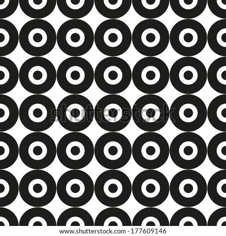 abstract background pattern contrast black white - stock vector