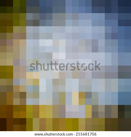 Abstract background. Pixels. - stock vector