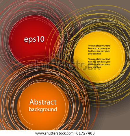 Abstract background. Ready for your text - stock vector