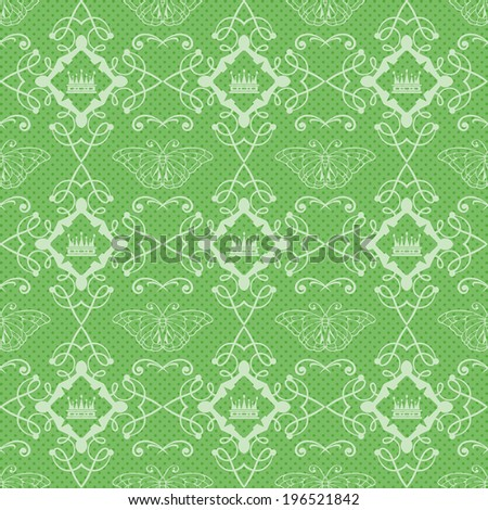 abstract background. seamless pattern. damask. decorative textured wallpaper for walls with floral pattern. abstract vintage illustration. vector
