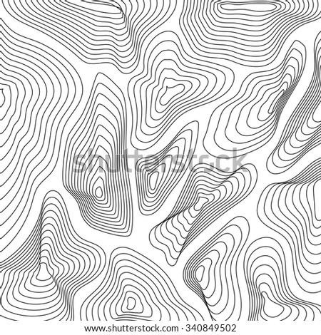 Abstract background. Topographic lines.
