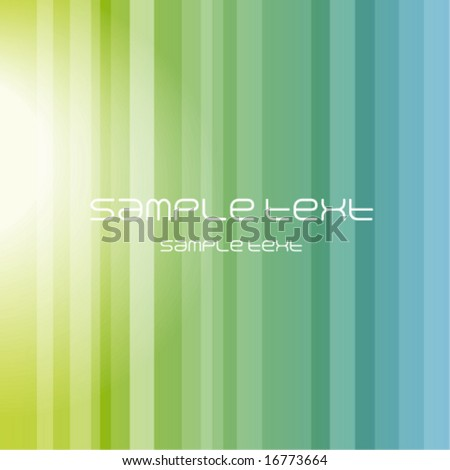 abstract  background - trendy business website  template with copy space Nice green texture with green transparent stripes - stock vector