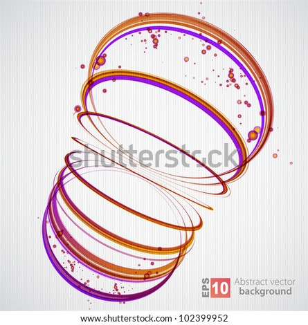 Abstract Background. Vector - stock vector