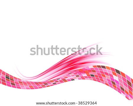 abstract background, vector blur effect - stock vector