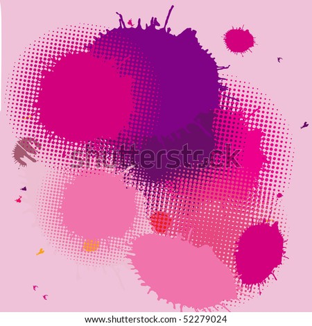 Abstract  background.Vector card - stock vector