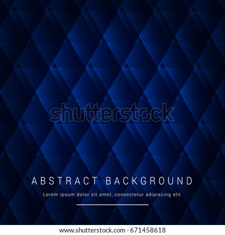 Abstract Background Vector Design Of Black And Blue Geometric Pattern Wallpaper