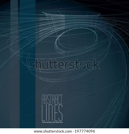 Abstract background vector illustration, clear eps 8 vector. - stock vector