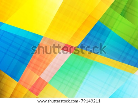 Abstract background. Vector Illustration. Clip-art - stock vector