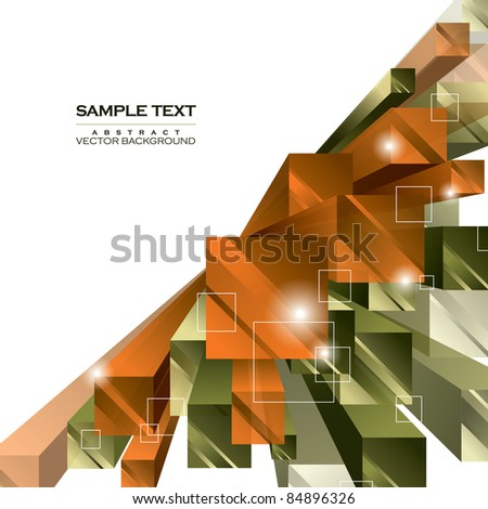 Abstract Background. Vector Illustration. Eps10 Format. - stock vector