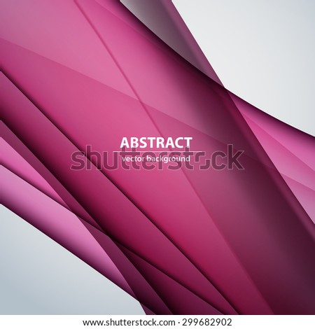 Abstract background wavy illustration easy editable - stock vector