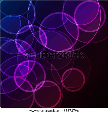 Abstract background with bokeh effect eps10 - stock vector