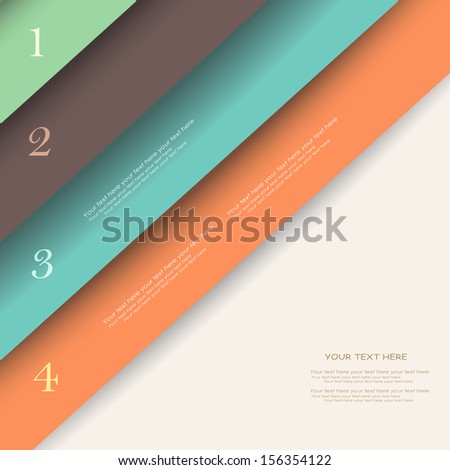 abstract background with bookmarks