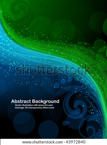 Abstract background with bright sparks. RGB colors. - stock vector