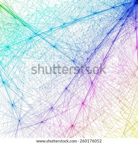 Abstract Background with Circles, Lines    easy all editable - stock vector