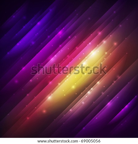 abstract background with colorful shining - stock vector