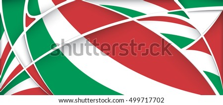 abstract background colors mexico flag vector stock vector 499717702