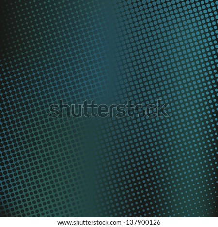 Abstract background with dots.  Halftone effect - stock vector