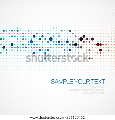Abstract background with dots. Vector illustration EPS10 - stock vector