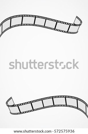 abstract background with film roll - for template