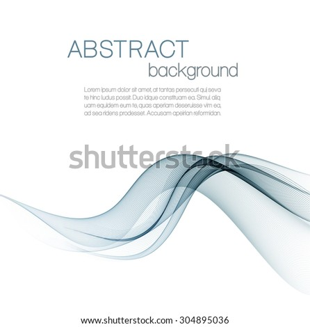 Abstract background with gray waves