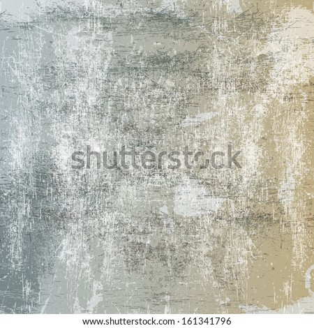 Abstract background with light scratches and scuffs - stock vector