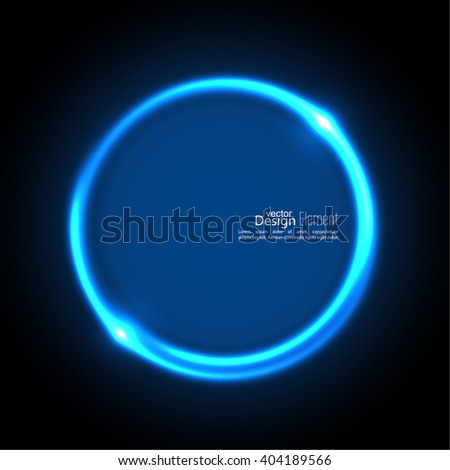 Abstract background with luminous swirling backdrop. Intersection curves. Glowing spiral. The energy flow tunnel. Vector. blue, cerulean, cobalt, indigo, sapphire, ultramarine - stock vector
