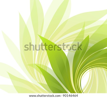 abstract background with petal - stock vector