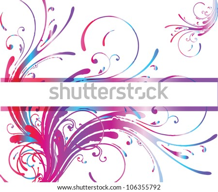 Abstract background with place for text/Vector illustration - stock vector