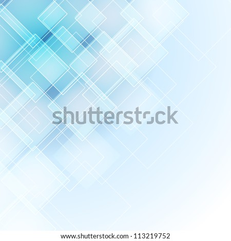 abstract background with rhombus - stock vector