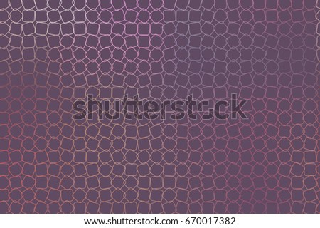 Abstract background with shape of mixed pattern. Style of mosaic or tile. Vector illustration graphic.