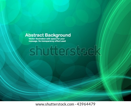 Abstract background with space for your message. RGB colors. - stock vector
