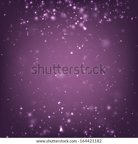 Abstract Background with Sparkling Lights - stock vector