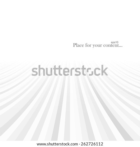 Abstract background with stripes and perspective. Vector illustration eps10 - stock vector