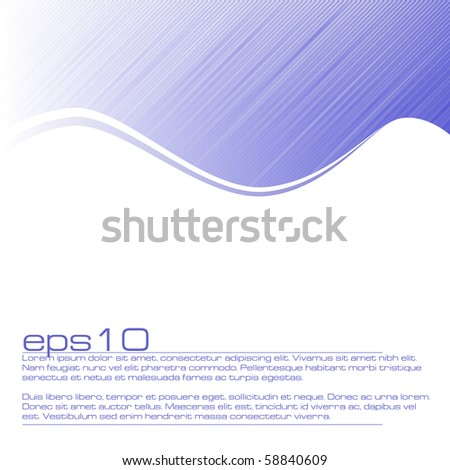 Abstract background with stripes in eps10 - stock vector
