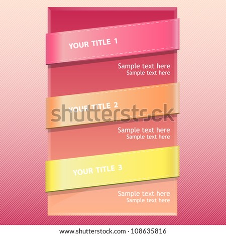 Abstract background with text in textured lines. Vector design. - stock vector