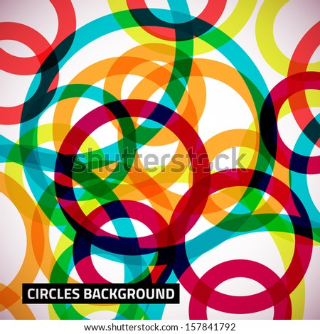 Abstract background with vector design element. - stock vector