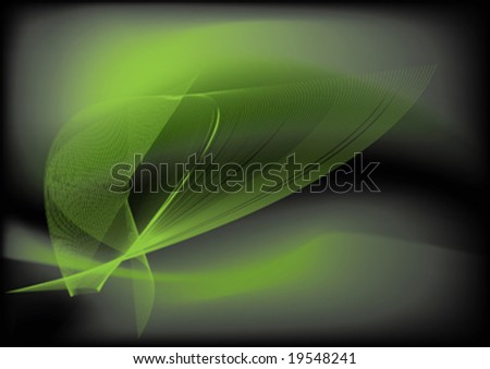 abstract background with wave design element