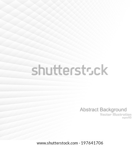 Abstract background with white shapes. Vector illustration - stock vector