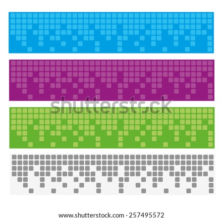 Abstract banner background for website