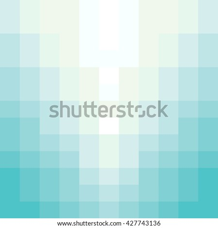 Abstract beach mosaic background - Vector - stock vector