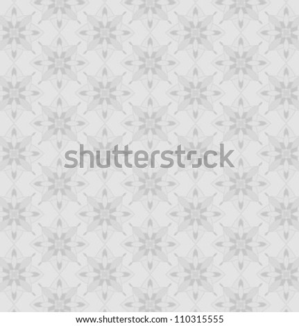 Abstract black-and-white floral texture