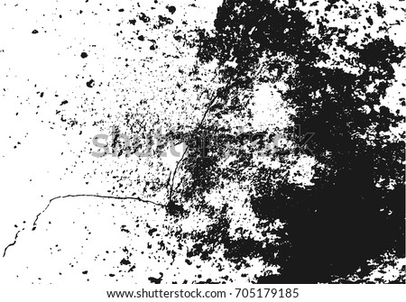 Abstract black and white grunge background cement or concrete wall textured vector illustration design