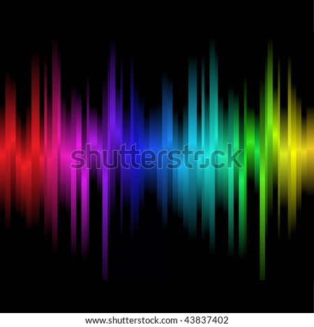 Abstract black background - stock vector