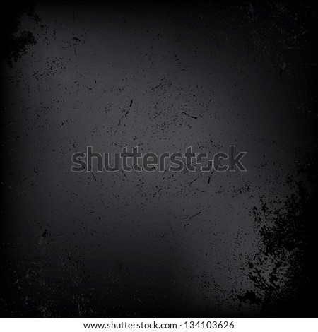 abstract black background, grunge background texture design. Vector EPS 10