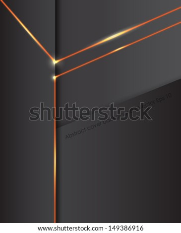 Abstract black cover background. Vector eps10.
