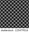 Abstract black&white seamless pattern (vector version) - stock vector