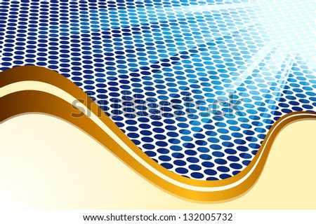 Abstract Blue - stock vector